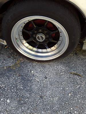 Juego de rines con sus gomas Honda civix for Sale in Hialeah, FL