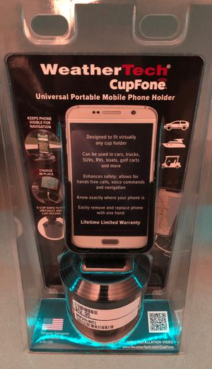 Weather tech cell phone holder for Sale in Las Vegas, NV