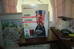 BRENTWOOD 12 SPEED BLENDER, NEW IN BOX. 12 SPEED + PULSE SETTING. for Sale in North Fort Myers, FL