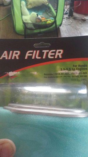 Honda motorcycle air filter for Sale in San Antonio, TX