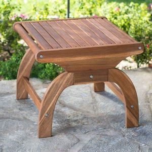 Outdoor Wood End Table Wooden Accent Patio Furniture for Sale in Chicago, IL