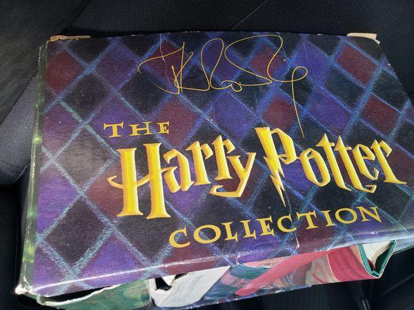 Harry Potter books 1-6
