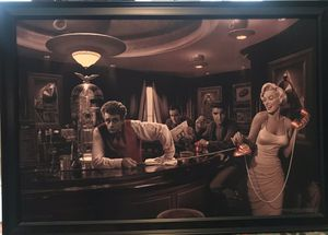 James dean, and Marilyn Monroe picture for Sale in San Jose, CA