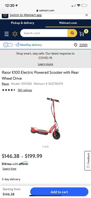 Like new electric Scooter, read discription for Sale in Falls Church, VA