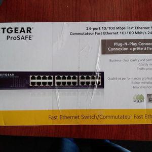 Netgear ProSafe Fast Ethernet Switch for Sale in Riverside, CA