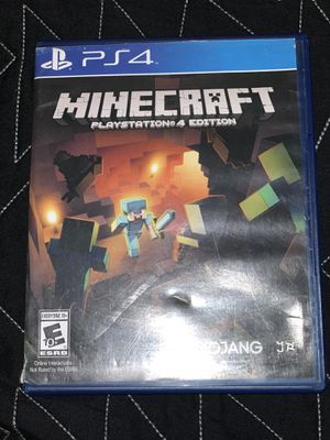 Minecraft ps4 game for Sale in Fresno, CA