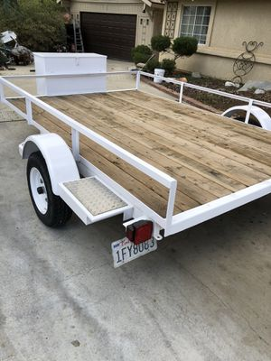 10 foot long utility trailer like new for Sale in Acton, CA