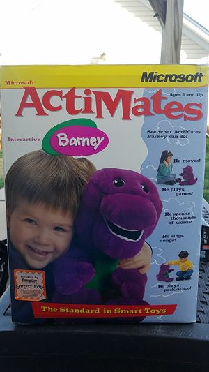 Microsoft ActiMates Barney for Sale in Huntersville, NC