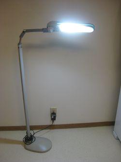 Ott Floor Lamp Light Flex Neck, Most Like Natural Light for Reading, Handwork for Sale in Poulsbo,  WA