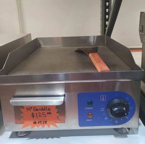 "14"" Electric Countertop Griddle for Sale in Chino, CA"