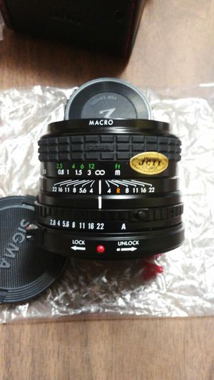 Sigma Mini-Wide II MACRO Lens for Canon for Sale in Pevely, MO
