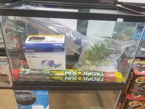 Glass fish aquarium for Sale in Corona, CA