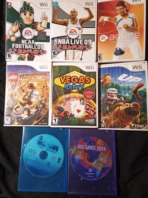 Wii Games $8 each for Sale in Tampa, FL
