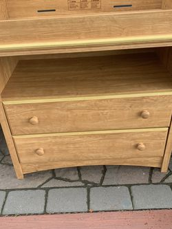 Baby Changing Table With Wooden Drawers for Sale in Oakland,  CA