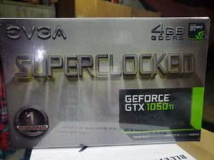 Evga superclocked geforce 1050ti for Sale in Los Angeles, CA