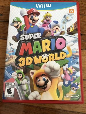 Nintendo Wii U super Mario 3D world like new for Sale in Providence, RI
