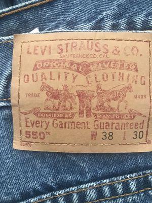 Levi Blue Jeans w34 L30 for Sale in Miami, FL