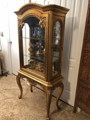 Antique cabinet. The staff not included. H. 66. L. 28. D. 13 for Sale in Skokie, IL
