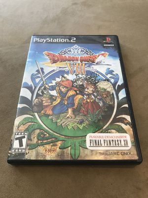 PS2 Classic - Dragon Quest VIII for Sale in Vacaville, CA