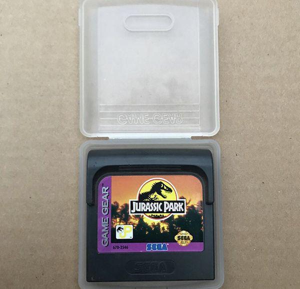 Sega Game Gear Jurassic Park