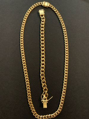 Chain, bracelet set for Sale in Chicago, IL