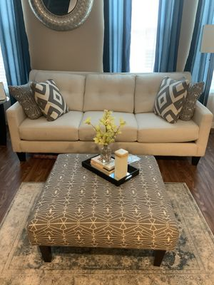 Couch, Chair, Ottoman and Fireplace for Sale in Woodbridge, VA