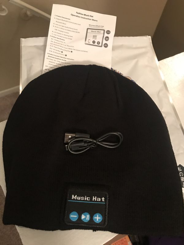 Music hat - Bluetooth beanie *brand new*