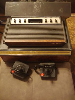 Vintage tele - games console with case and 22 games complete with chords and brochures for Sale in PT ORANGE, FL