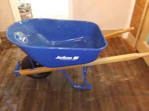 Jackson ProGrade 6cu ft Steel Tray Wheelbarrow for Sale in Coldwater, MS