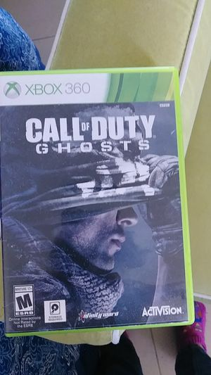 XBOX 360..CALL of DUTY GHOSTS 2 disc. for Sale in Hialeah, FL