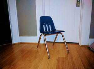 Kid's classic school chair stacking for Sale in Tacoma, WA