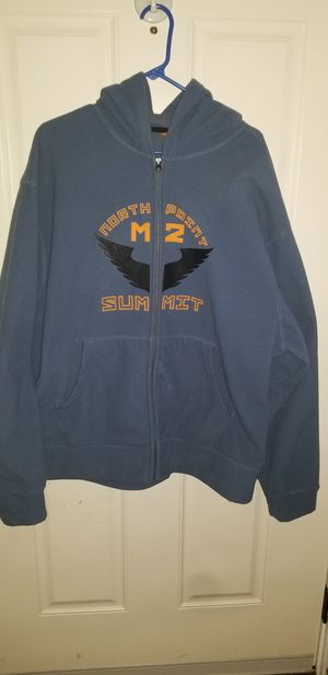 Men's Size 2XL ZIP UP HOODIE for Sale in Taylor, MI