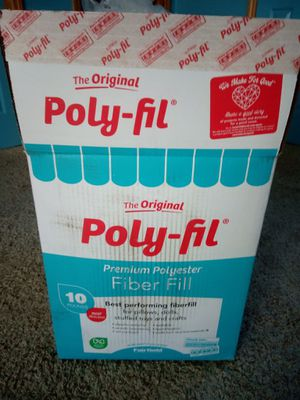 Box Of Poly Fill for Sale in Albuquerque, NM