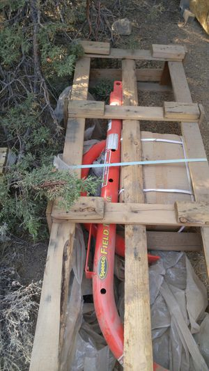 SpeedCo auger. Brand new sill in crate. Can be used in a 3 point. for Sale in Prineville, OR