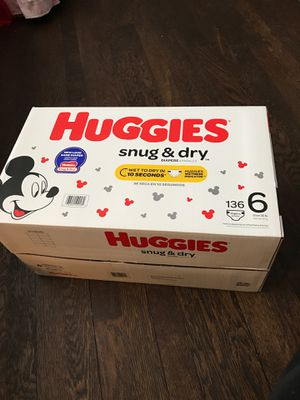 Huggies snug and dry for Sale in Cleveland, OH