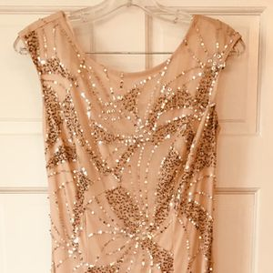 Adrianna Pappell Blush Pink Sequin Dress for Sale in Arlington, VA