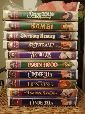Disney Masterpiece Collection VHS for Sale in NJ, US