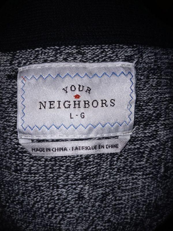 Your Neighbors Cardigan Size Large