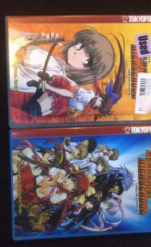 Anime Real Bout High School DVD's for Sale in Providence, RI