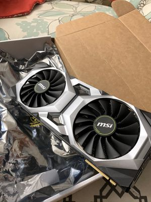 MSI GeForce RTX 2080 Ti VENTUS 11G Graphics Card for Sale in Westminster, CA