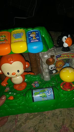 5 teething.toys n musical safary for Sale in Riverside, CA