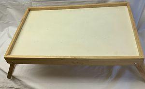 Wooden lap desk tray for Sale in Fredonia, KS