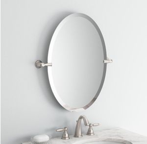 Frameless Pivoting Wall Mirror for Sale in FL, US