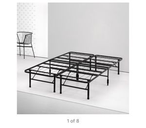 Spa Sensations by Zinus Steel SmartBase Bed Frame Black, Twin 8A-2127 for Sale in St. Louis, MO