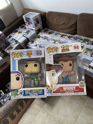 Funko Pop Toy Story Buzz and Woody for Sale in Orlando, FL