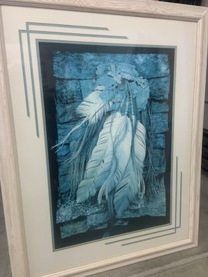 Indian Feather Paint Turquoise new $139.99 for Sale in Scottsdale, AZ