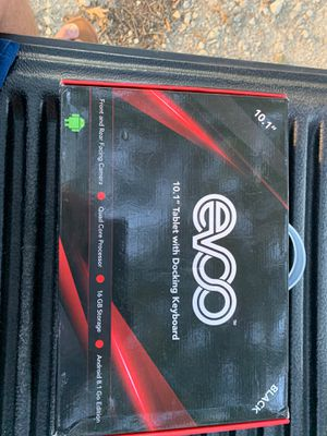 """Evoo 10.1""""Tablet W/Docking Kryboard (new) for Sale in Canton, TX"""