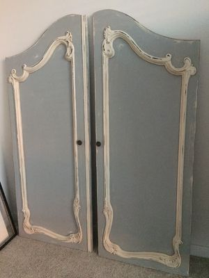 Decorative French door panels for Sale in Silver Spring, MD