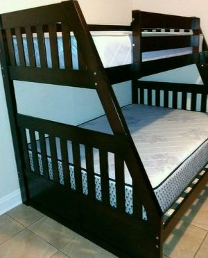 NEW BEAUTIFUL BUNK BED WITH MATTRESS for Sale in Biscayne Park, FL