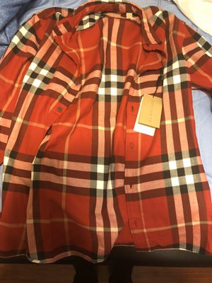 Burberry shirt for Sale in Norwalk, CA